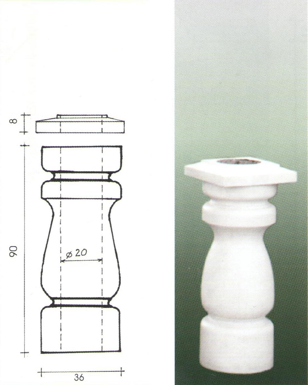 Klassische Säulen und Architrave   art beton balustrade